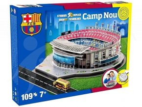 puzzle 3d stadion camp nou fc barcelona
