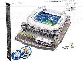 puzzle 3d stadion santiago bernabeu real madrid