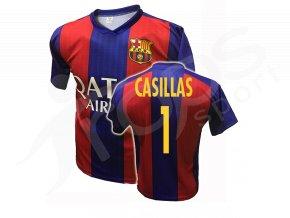 fotbalovy dres fc barcelona iker casillas