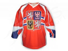 Hokejový dres ČR TOP - červený