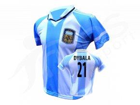 fotbalovy dres argentina paulo dybala