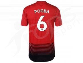 fotbalovy dres adidas pogba manchester united domaci