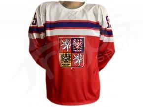 hokejovy dres cesko top cerveny
