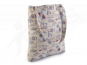 textilni taska s namornickym potiskem