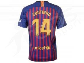 fotbalovy dres nike coutihno fc barcelona domaci