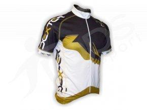 Cyklistický dres PROFI FOOT - zlatý
