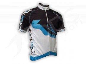 Cyklistický dres PROFI FOOT - modrý