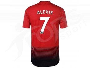 fotbalovy dres adidas alexis manchester united domaci