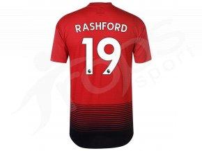 fotbalovy dres adidas marcus rashford manchester united domaci