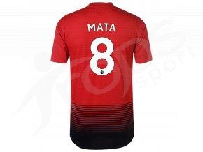 fotbalovy dres adidas juan mata manchester united domaci
