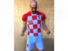 fotbalovy komplet chorvatsko luka modric