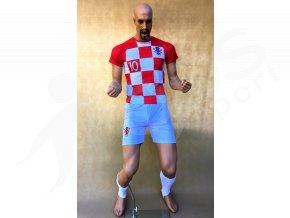fotbalovy komplet chorvatsko luka modric stulpny