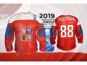 hokejovy dres cesko 2019 cerveny