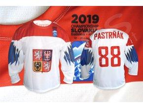hokejovy dres cesko 2019 bily