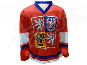 Hokejový dres ČR červený