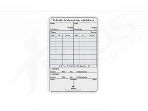 karta do zapisniku pro rozhodci erima