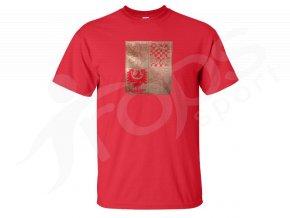 Tričko CZECH - červené