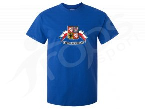 Tričko Czech Republic modré