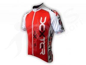 Cyklistický dres IMAGE - červený