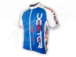 Cyklistický dres IMAGE - modrý