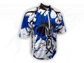 Cyklistický dres MTB SPLASH - modrý