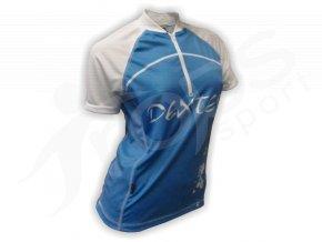 Cyklistický dres dámský LADIES - modrý