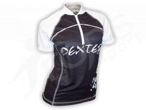 Cyklistický dres dámský LADIES - černý