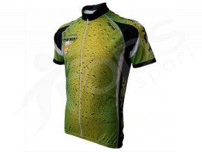 Cyklistický dres PIVO silniční - zelený