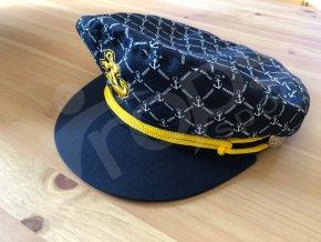 kapitanska cepice modra
