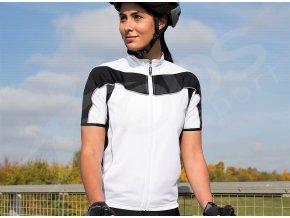 damsky cyklisticky dres spiro bike full bily