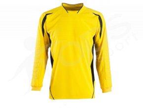 detsky fotbalovy brankarsky dres sols zluty