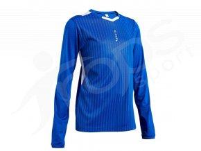 detsky fotbalovy dres kipsta dlouhy modry