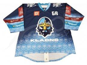 hokejovy dres rytiri kladno match modry