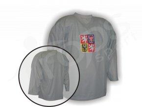 Hokejový dres tréninkový ČR - brankářský