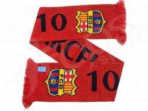 Fotbalová šála Messi FC Barcelona