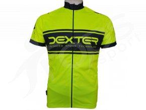 cyklisticky dres neon zluty