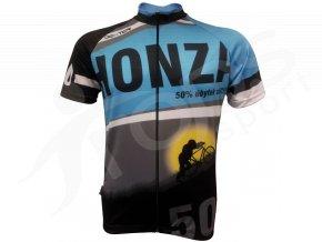 cyklisticky dres narozeninovy modry