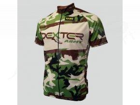 cyklisticky dres silnicni army