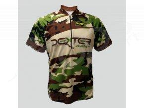cyklisticky dres mtb army