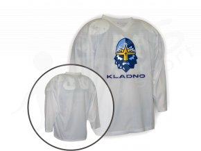 Hokejový dres tréninkový RYTÍŘI KLADNO - bílý