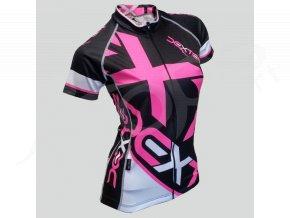 damsky cyklisticky dres dexter mondrian cerny