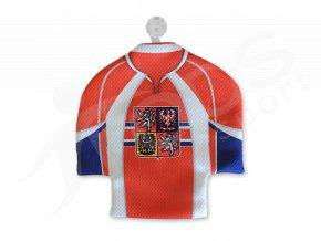 Hokejový mini dres ČR - červený