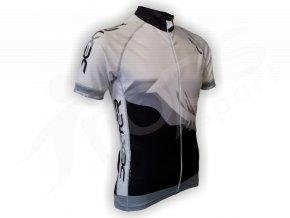 Cyklistický dres PROFI FOOT - šedý