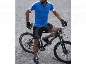 pansky cyklisticky dres bike t modry