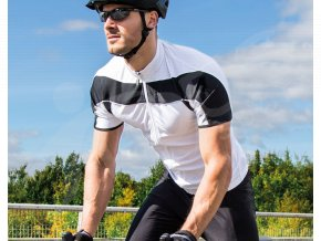 cyklisticky dres spiro bike full bily