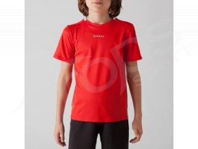 detsky fotbalovy dres kipsta cerveny