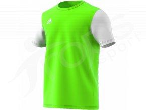 fotbalovy dres adidas estro 19 bily limetkovy