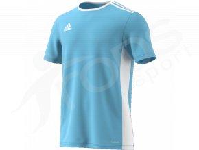 fotbalovy dres adidas entrada 18 svetle modry