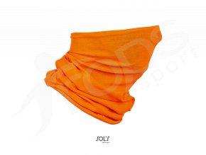 ochranny nakrcnik rouska sols oranzovy