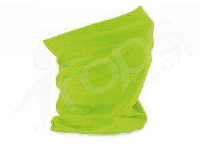 detsky ochranny nakrcnik rouska beechfield zeleny
